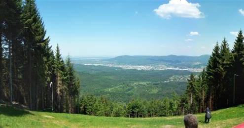 Startplatz Nordost, Blickrichtung Gaggenau