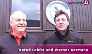 Werner Axtmann und Bernd Leicht