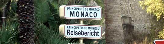 Reisebericht Monaco 2008/2009