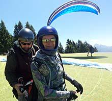 Cooli Tandemfliegen mit Roland und Stefan... :-)