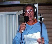 Unterhaltungsrecht für alle: Rodila am Mikrofon :-)