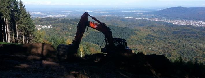 Bauarbeiten Nordost 2014