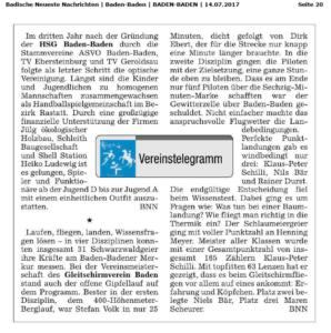 Badische Neueste Nachrichten 14072017