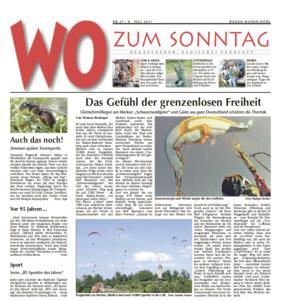 Badisches Tagblatt - Wo Zum Sonntag 08072017